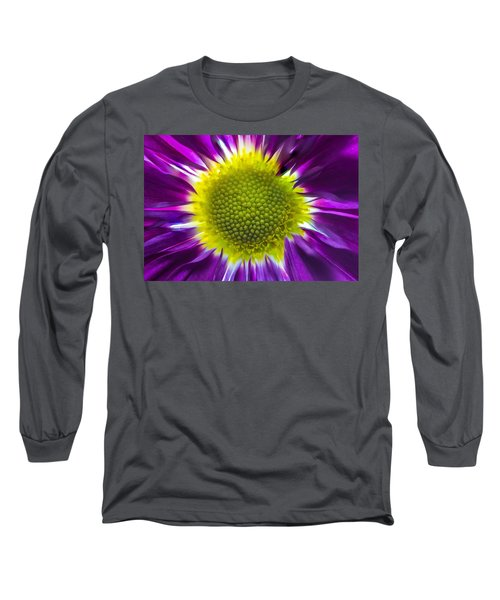 Purple Burst Long Sleeve T-Shirt