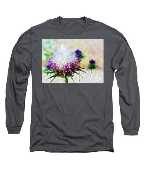Purple Chaparral  Long Sleeve T-Shirt