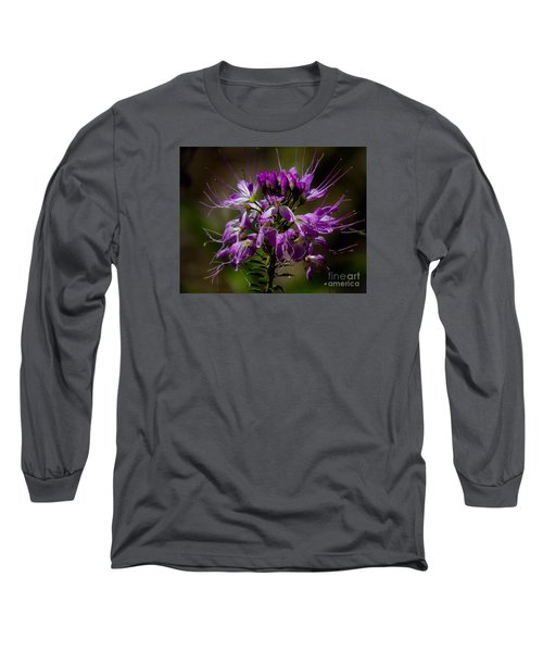 Purple Flower 1 Long Sleeve T-Shirt