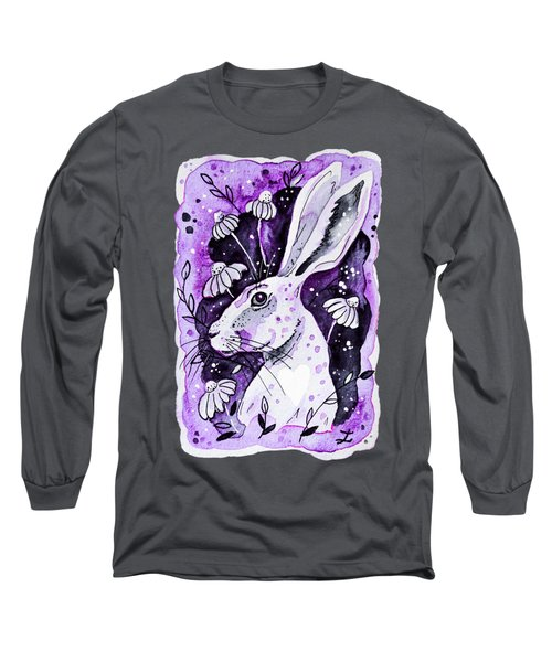 Purple Hare Long Sleeve T-Shirt