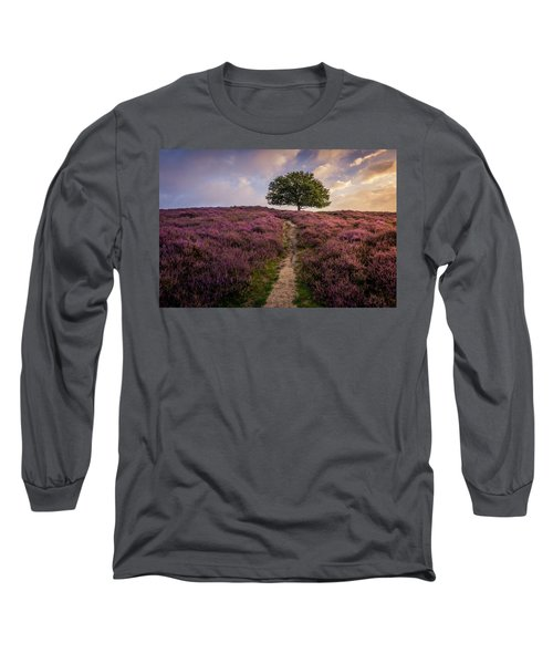 Purple Hill Long Sleeve T-Shirt