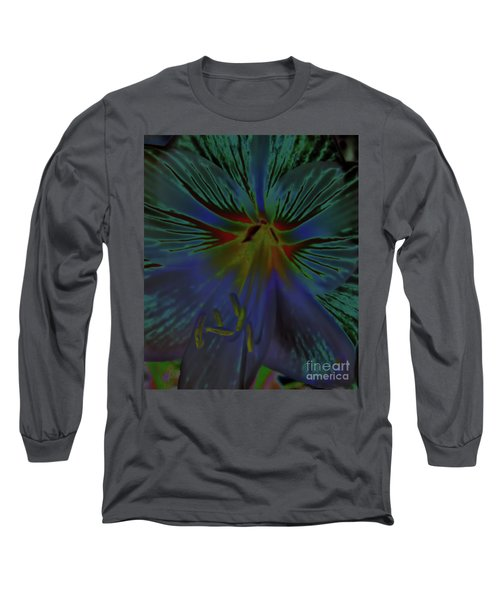 Purple In The Lily Long Sleeve T-Shirt