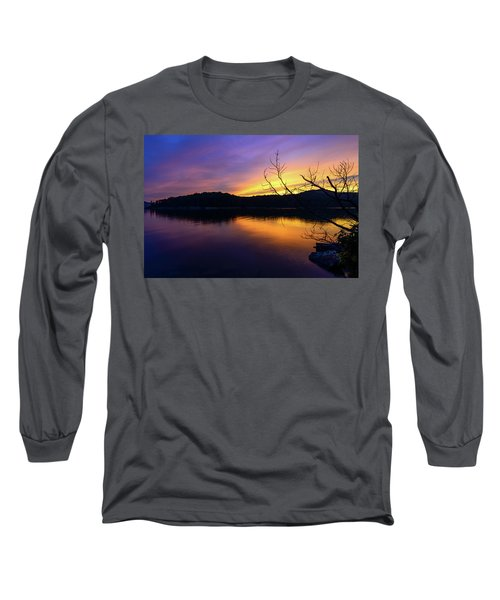 Purple Lake Long Sleeve T-Shirt