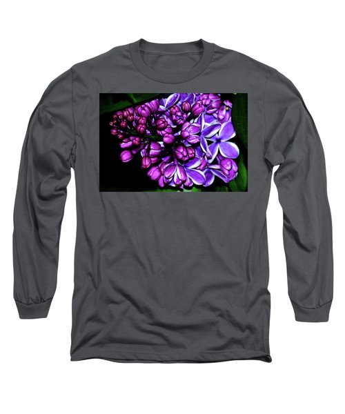 Purple Lilac Long Sleeve T-Shirt