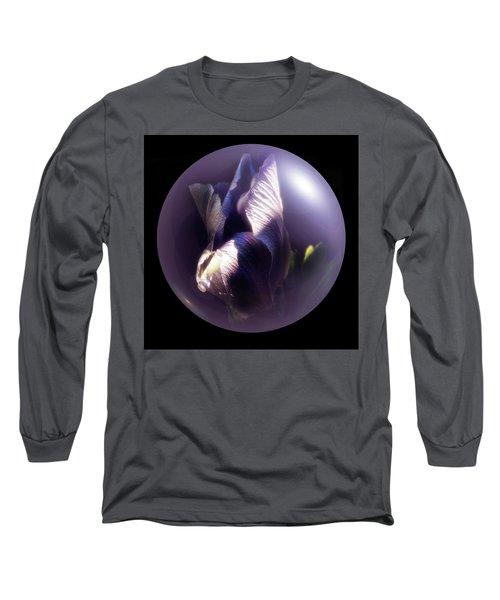 Purple Orb Iris Long Sleeve T-Shirt