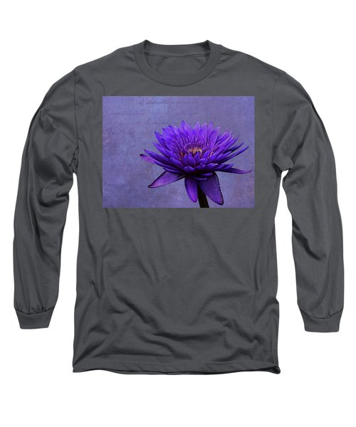 Long Sleeve T-Shirt featuring the photograph Purple Passion by Judy Vincent