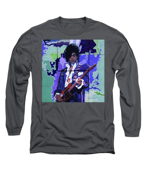 Purple Rain And Prince Long Sleeve T-Shirt