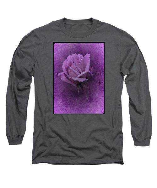 Purple Rose Of November No. 2 Long Sleeve T-Shirt