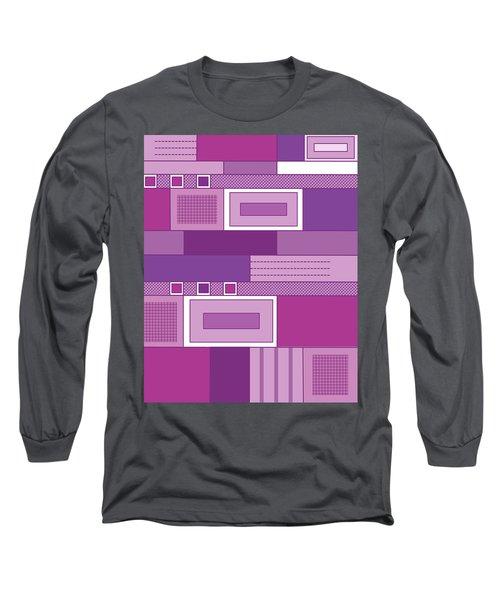 Purple Time Long Sleeve T-Shirt by Tara Hutton