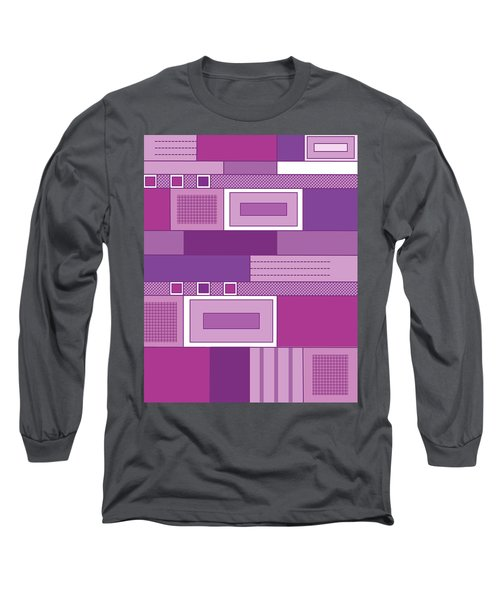 Purple Time Long Sleeve T-Shirt