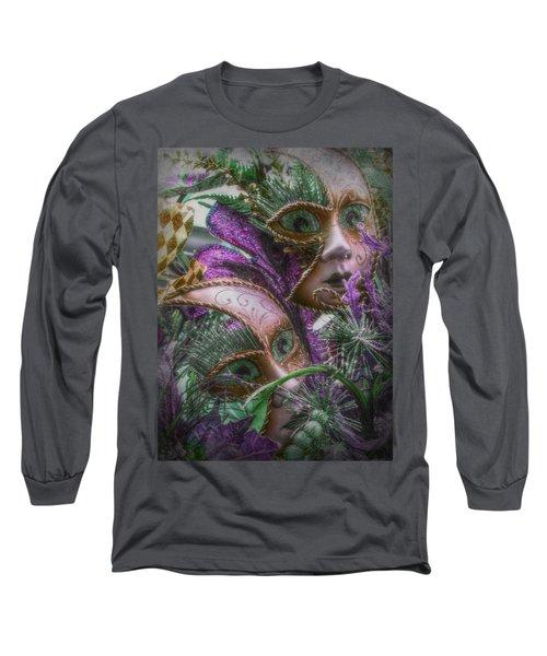 Purple Twins Long Sleeve T-Shirt