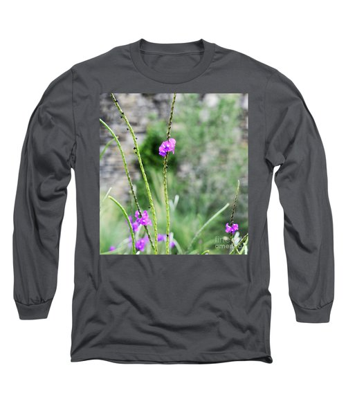 Purple Vebena Long Sleeve T-Shirt