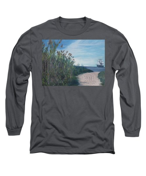 Putting Out To Sea Long Sleeve T-Shirt