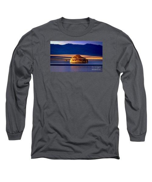 Long Sleeve T-Shirt featuring the photograph Pyramid Lake Nevada by Irina Hays