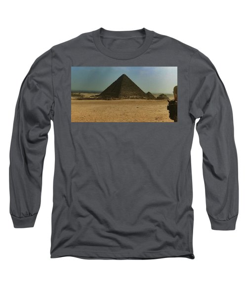 Pyramids Of Egypt Long Sleeve T-Shirt