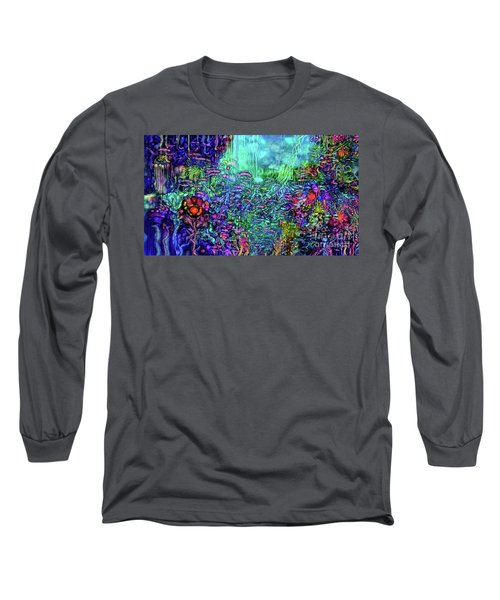 Long Sleeve T-Shirt featuring the digital art Qualia's Reef by Russell Kightley