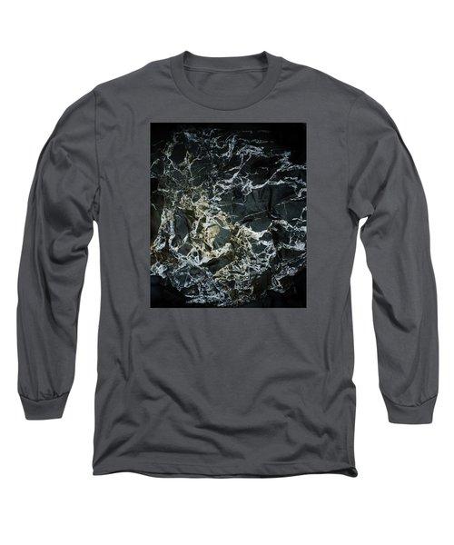Quartz Veins Abstract 1 Long Sleeve T-Shirt