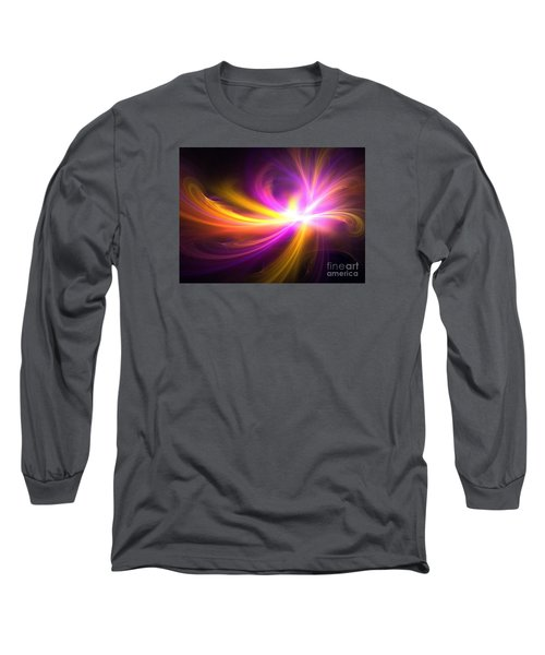 Quasi-stellar Long Sleeve T-Shirt by Kim Sy Ok