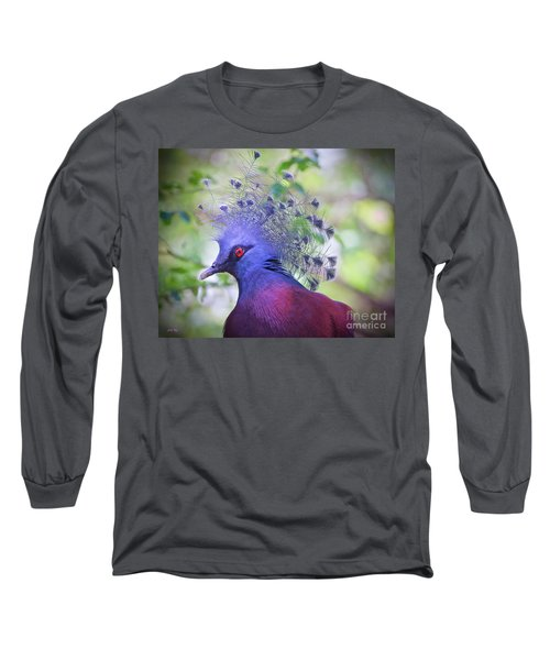 Queen Of The Birds Edition 2 Long Sleeve T-Shirt by Judy Kay