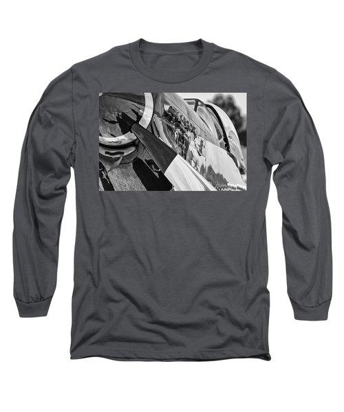 Quick Silver Closeup Long Sleeve T-Shirt
