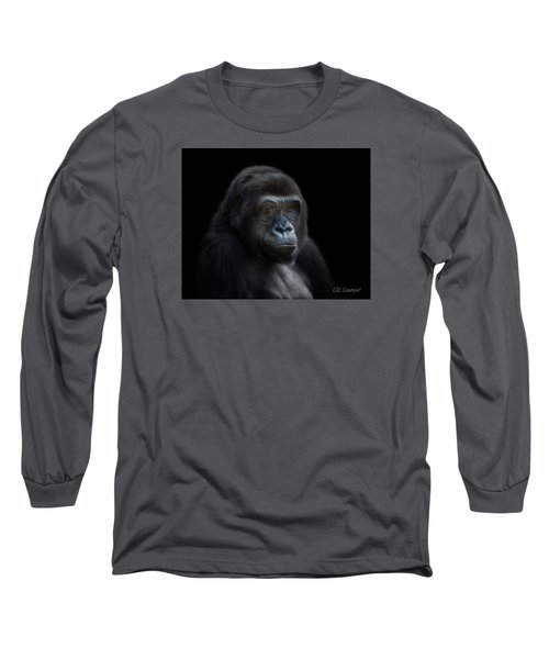 Quiet Moment Long Sleeve T-Shirt by CR  Courson