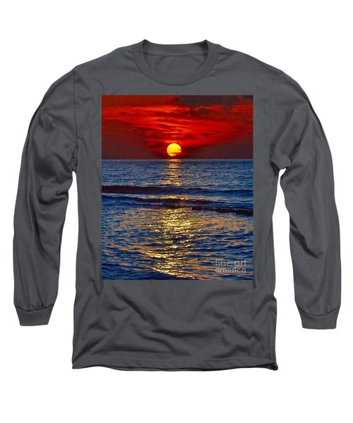 Quiet On The Ocean Long Sleeve T-Shirt