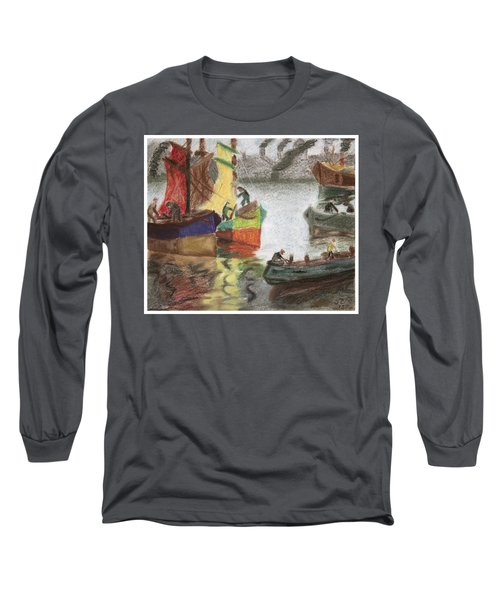 La Boca Caminito Long Sleeve T-Shirt