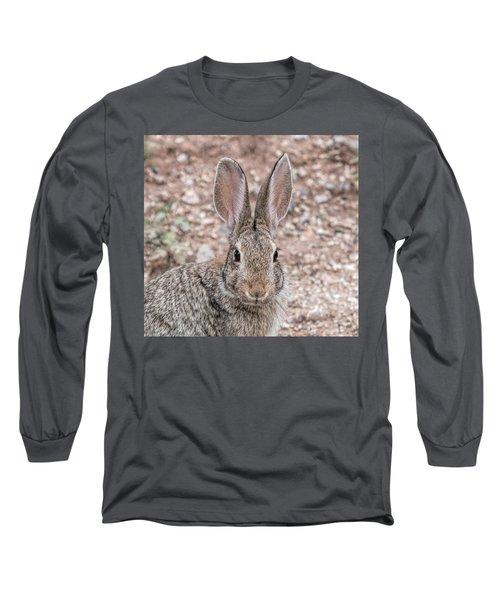 Rabbit Stare Long Sleeve T-Shirt