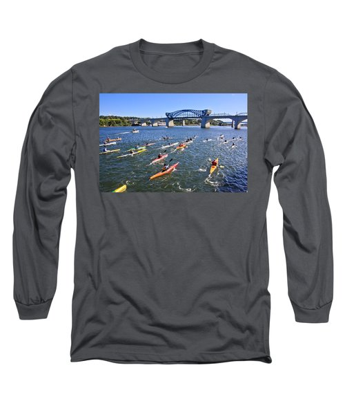 Race On The River Long Sleeve T-Shirt