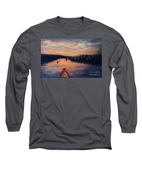 Racing The Sunset Long Sleeve T-Shirt