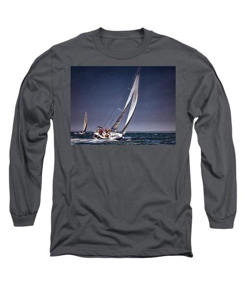 Racing To Nantucket Long Sleeve T-Shirt