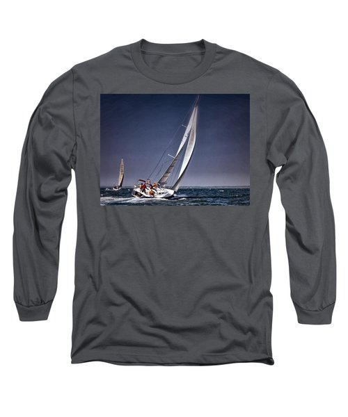 Racing To Nantucket Long Sleeve T-Shirt