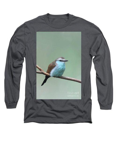 Racket-tailed Roller V2 Long Sleeve T-Shirt