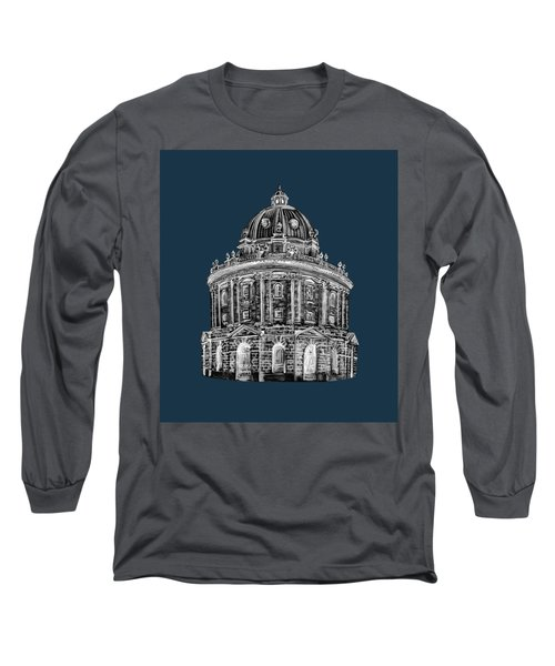 Long Sleeve T-Shirt featuring the digital art Radcliffe At Night by Elizabeth Lock
