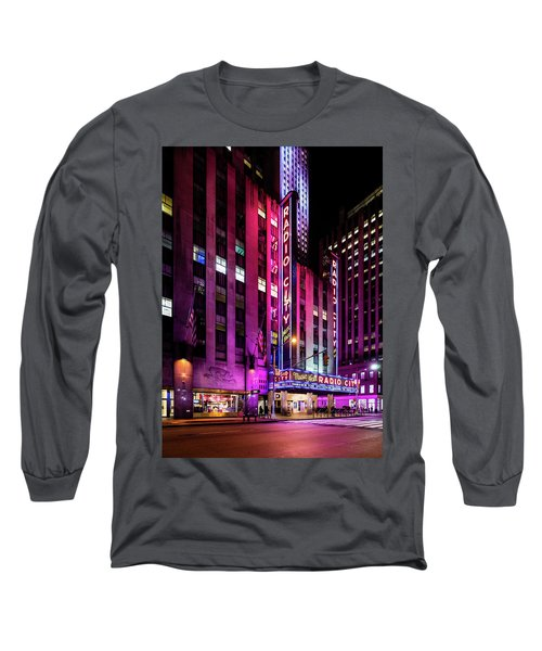 Radio City Music Hall Long Sleeve T-Shirt