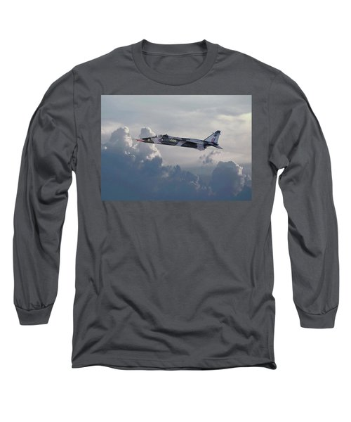 Long Sleeve T-Shirt featuring the photograph Raf Jaguar Gr1 by Pat Speirs