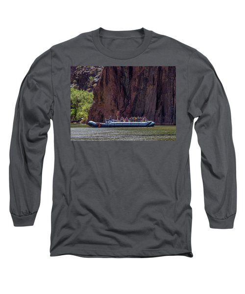 Rafters On The Colorado River, Grand Canyon Long Sleeve T-Shirt