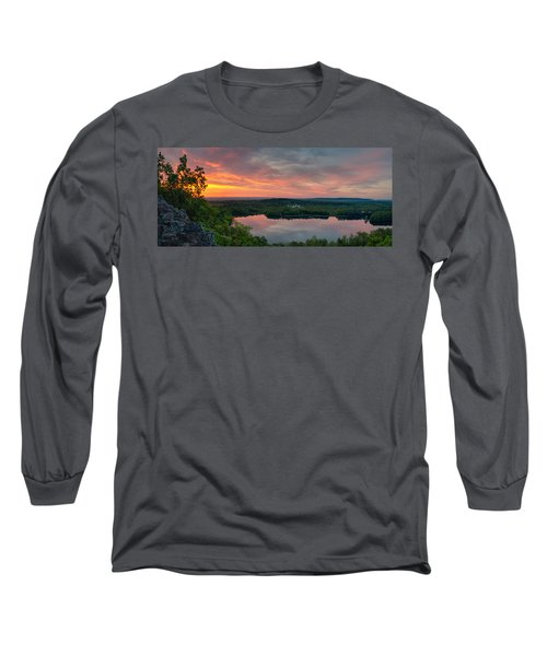 Ragged Mountain Sunrise Long Sleeve T-Shirt