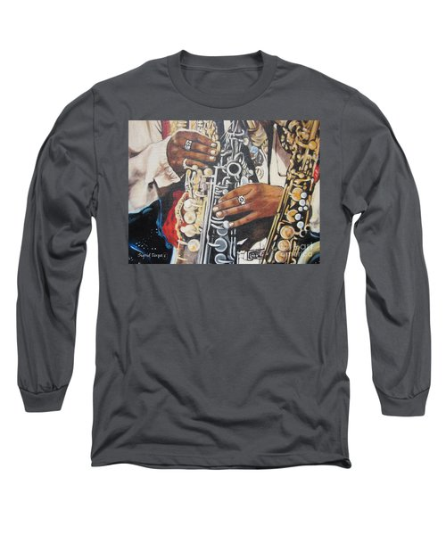 Blaa Kattproduksjoner.      Jazzed  Long Sleeve T-Shirt