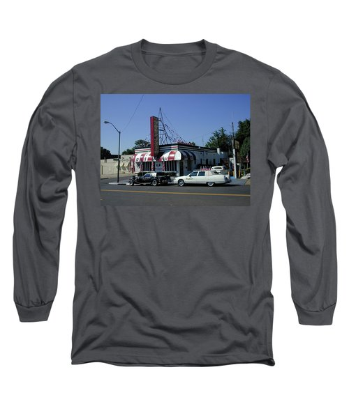 Long Sleeve T-Shirt featuring the photograph Raifords Disco Memphis A by Mark Czerniec