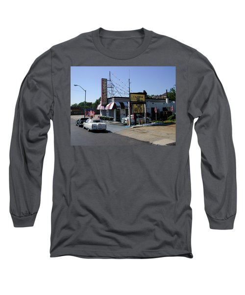 Long Sleeve T-Shirt featuring the photograph Raifords Disco Memphis B by Mark Czerniec
