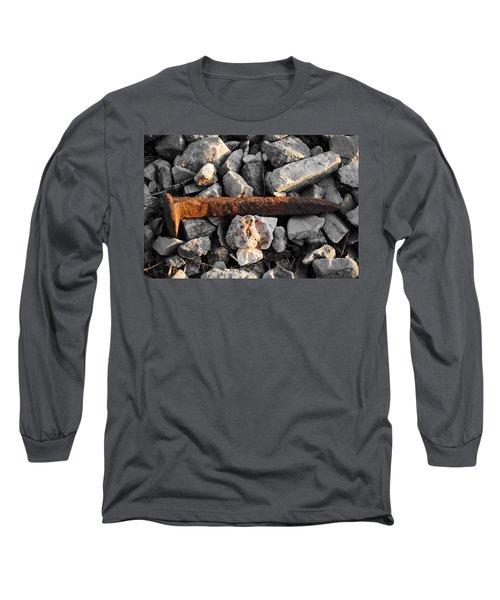 Railroad Spike Long Sleeve T-Shirt