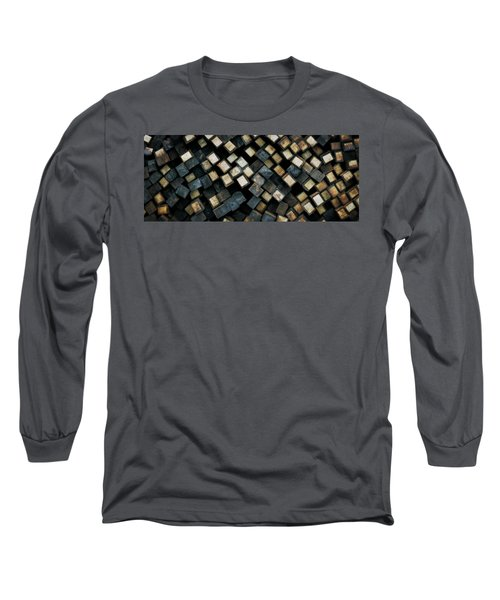 Railroad Ties Stacked Long Sleeve T-Shirt