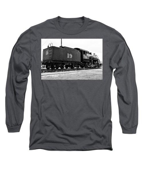 Railway Engine In Frisco Long Sleeve T-Shirt
