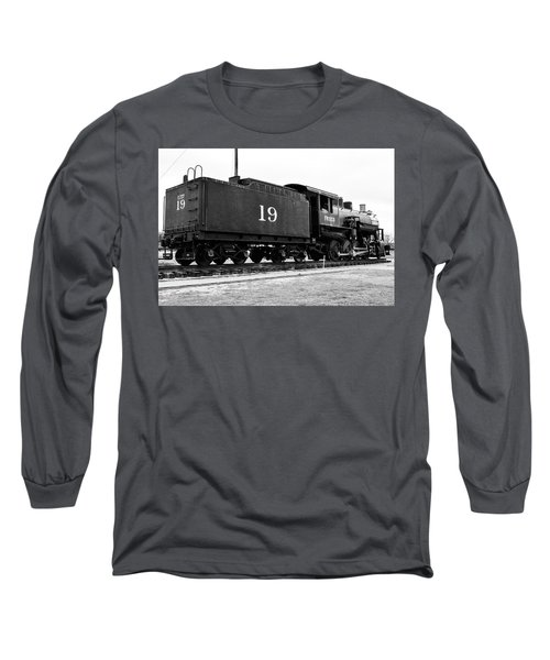 Railway Engine In Frisco Long Sleeve T-Shirt