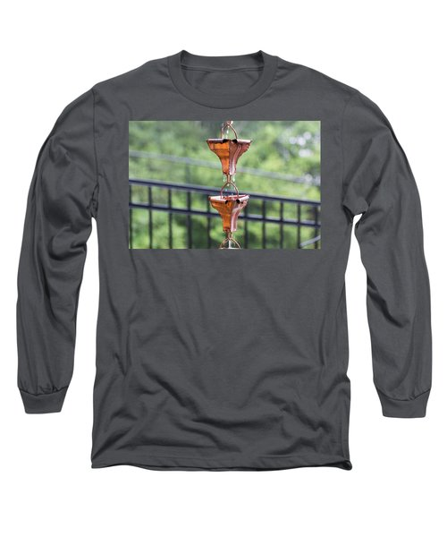Rain Chains Long Sleeve T-Shirt