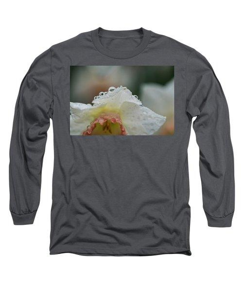 Rain In Daffodils Long Sleeve T-Shirt