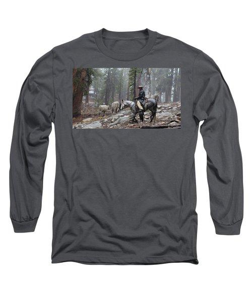 Rain Riding Long Sleeve T-Shirt