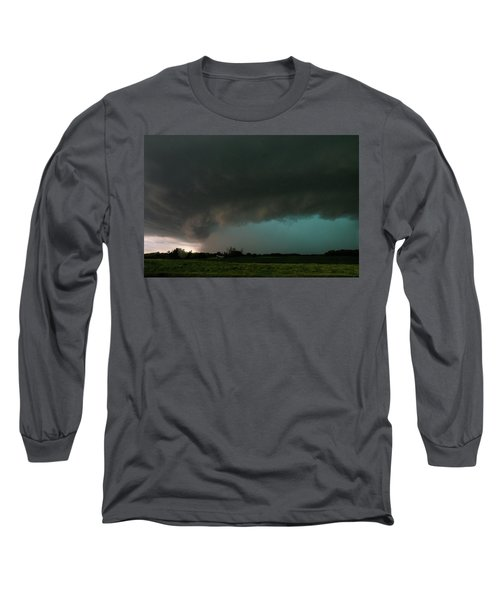Rain-wrapped Tornado Long Sleeve T-Shirt