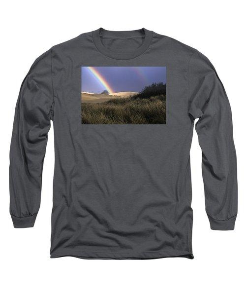 Rainbow And Dunes Long Sleeve T-Shirt